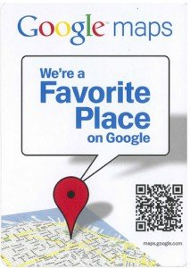 We're a Google Favorite Place