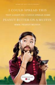 brb getting a peanut muffin