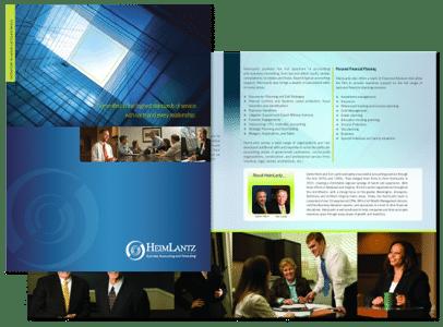 Accountant brochure