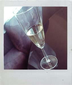 The Cyphers Agency champagne glass