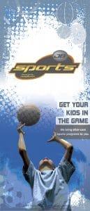 JumpBunch Sports Brochure Design