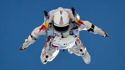 Red Bull Space Jump stunt