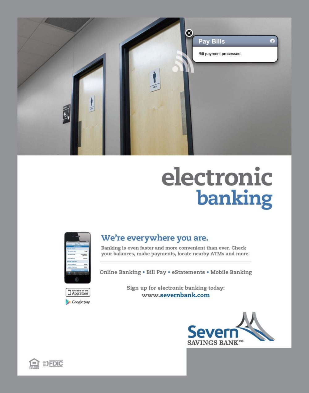 Electronic Banking Ad