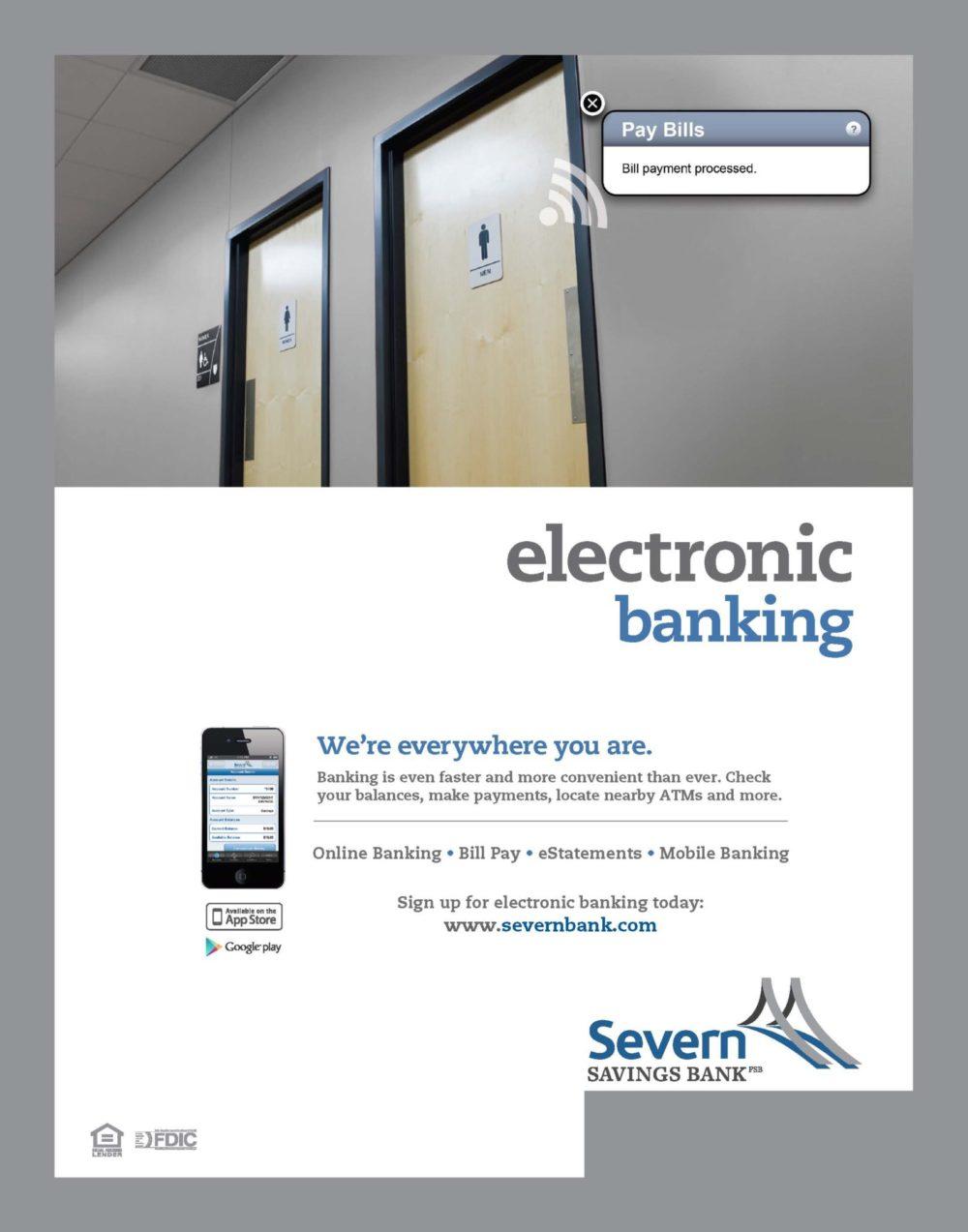 Electronic Banking Ad