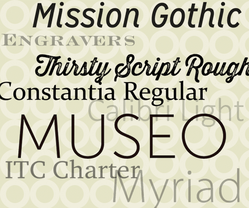 Our Favorite Fonts