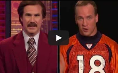 Will Ferrell and Peyton Manning