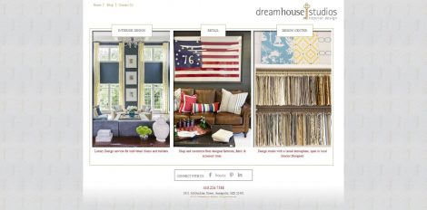 Dream House Studios Website