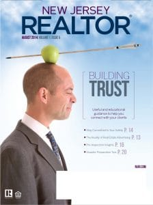 Rebranding design for NJ Realtor Magazine