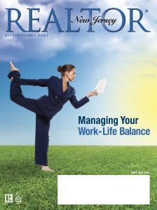 Before Redesign Realtor Magazine