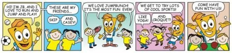 JumpBunch Comic Strip