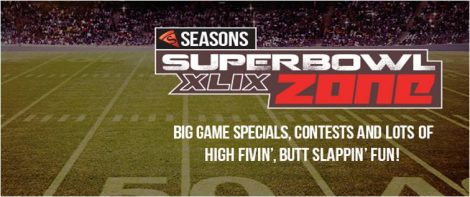 Seasons SuperBowl Zone Ad