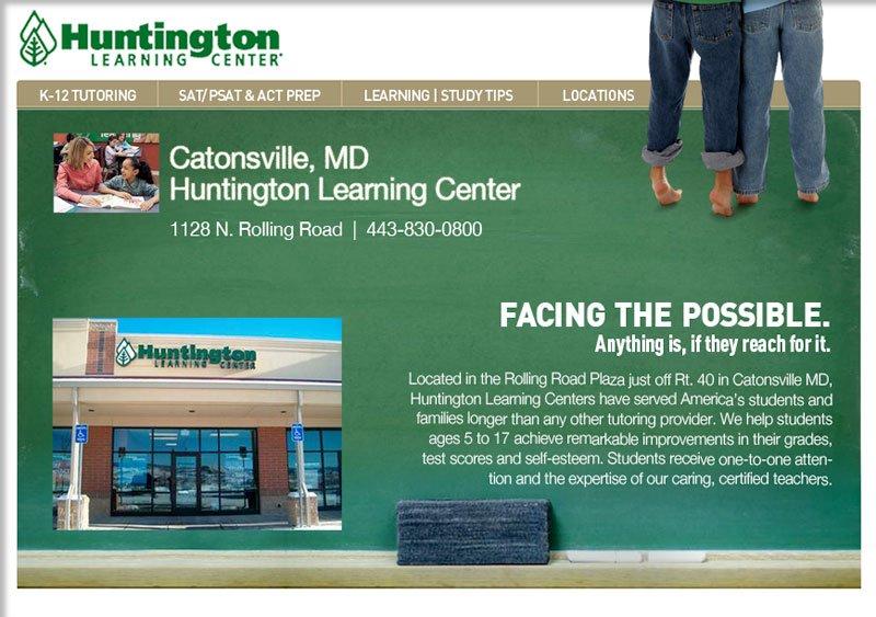 Huntington Learning Center Portfolio