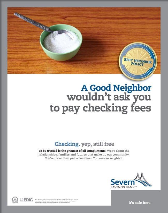 Severn Savings Bank Neighbor Ad