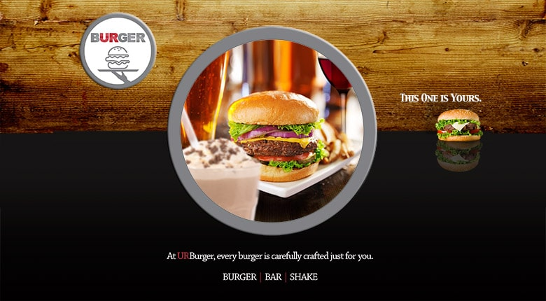 URburger restaurant brand development
