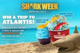 Shark Week Ad Coldstone
