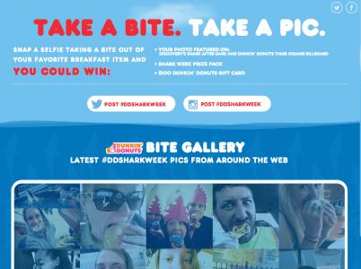 Dunkin Shark Week Ad