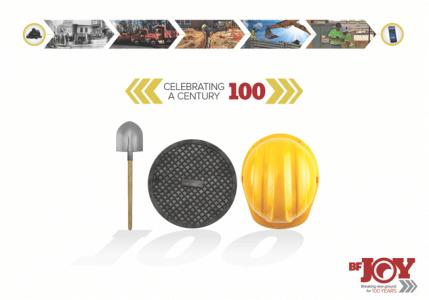 B Frank Joy 100 Year Anniversary Marketing