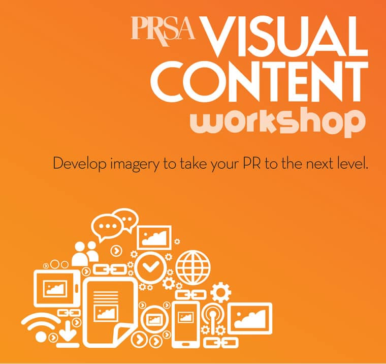 PRSA Visual Content Workshop