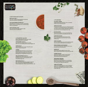 Restaurant Menu Redesign