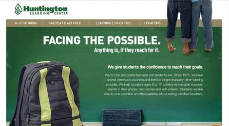 Huntington Learning Center Website