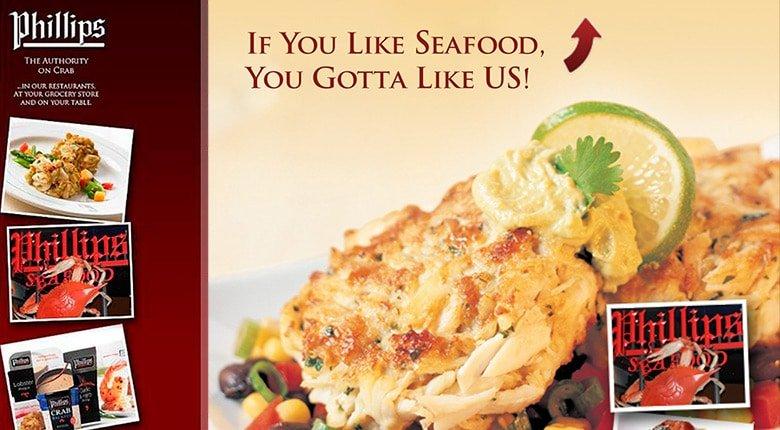 If you like seafood you gotta like us! Phillips Seafood