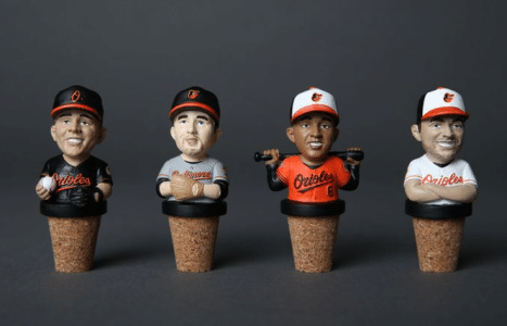 Baltimore Orioles Wine Stoppers