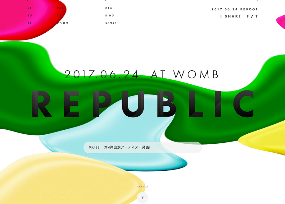 bold custom typography in web design
