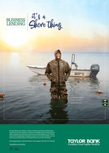 Taylor Bank High 'N Dry Business Lending Ad