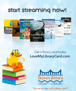 Start Streaming Now - Queen Anne's Library
