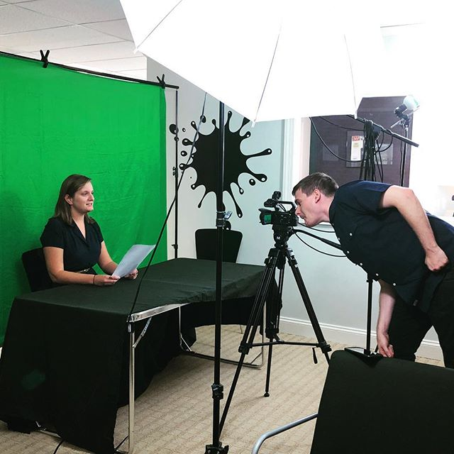 Green screen video work