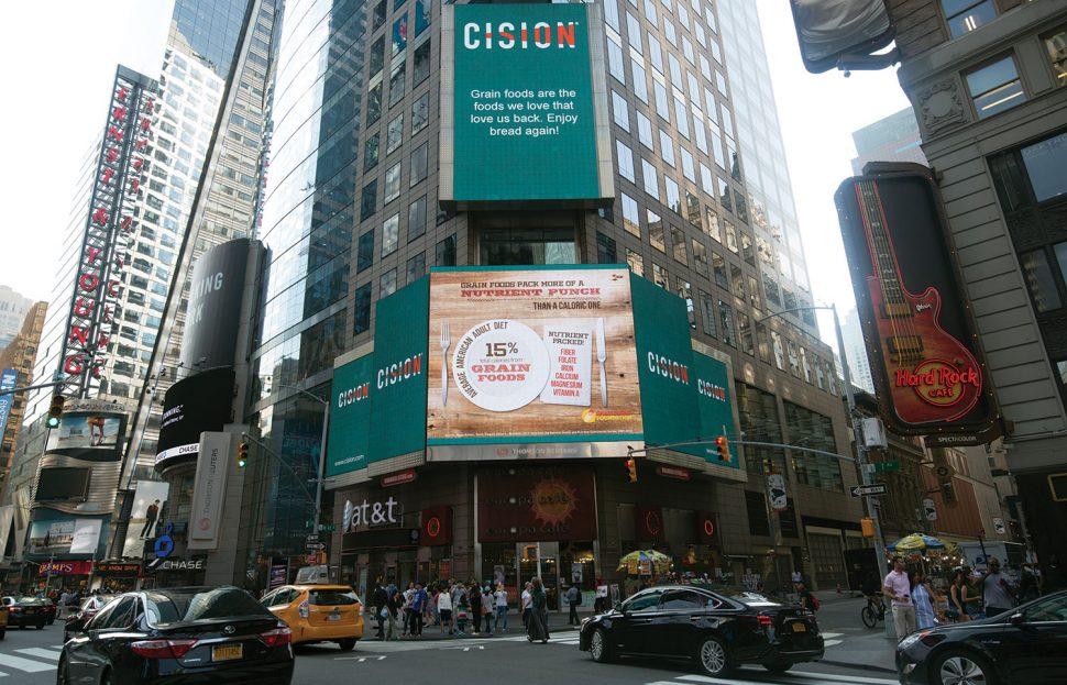 GFF Times Square billboard
