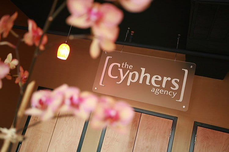 Cyphers Agency sign image