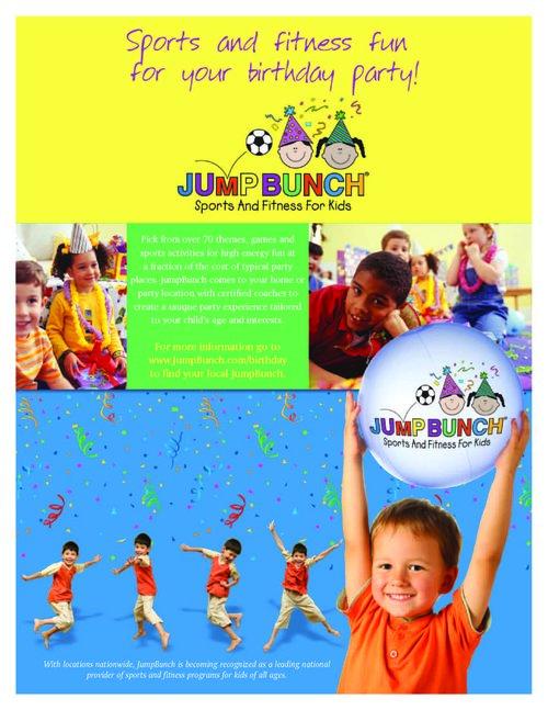 JumpBunch Flyer