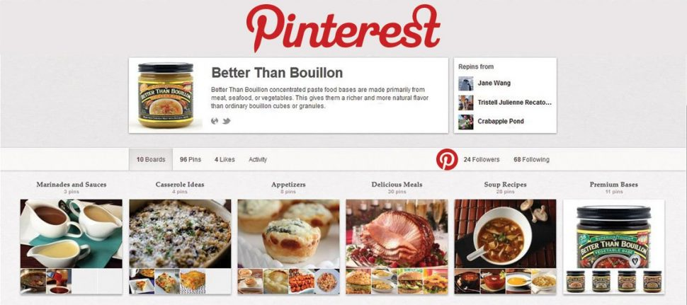 Better than Bouillon's Pinterest