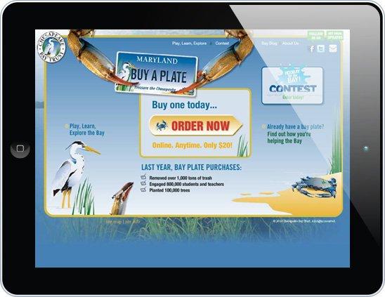 Chesapeake Bay Trust website