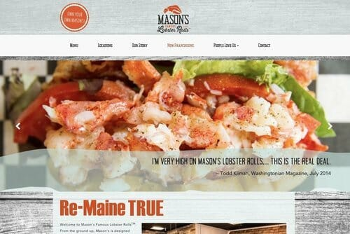 Mason's Famous Lobster