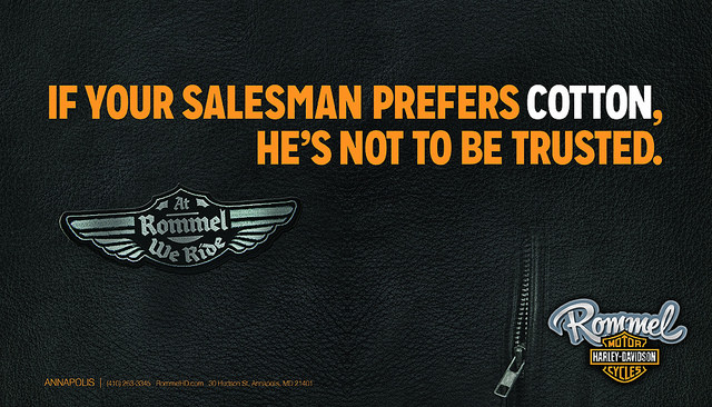 Harley Davidson Ad