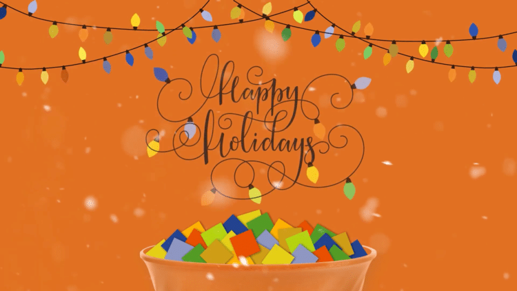 Happy Holidays Ecard from Snac International
