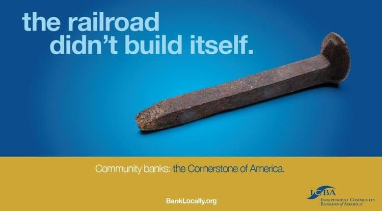 Independent Community Bankers Association Ad