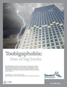 Toobigaphobial Severn Bank Ad
