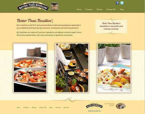 Better than Bouillon Website