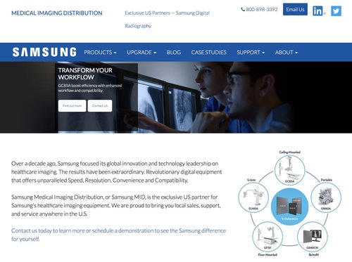 Mid Samsung Website