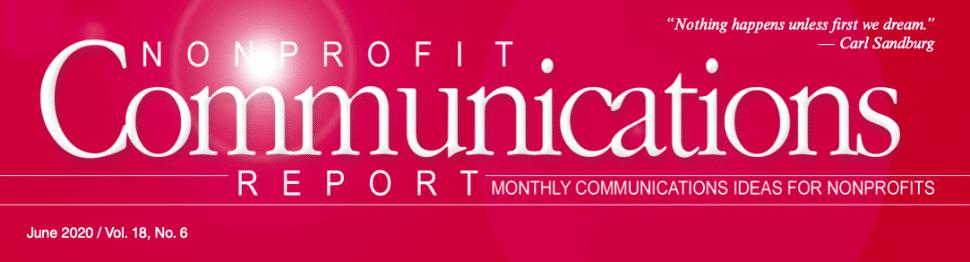 Non-Profit Communications Article
