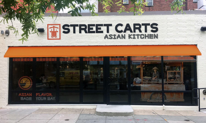 Street Carts Restaurant Exterior
