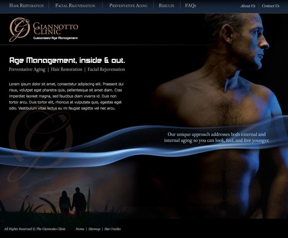 Giannotto Clinic Website