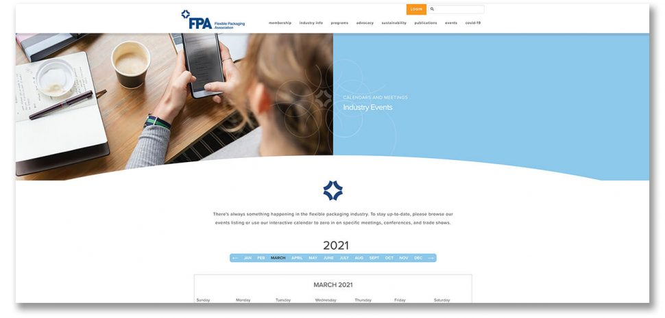 FPA events page