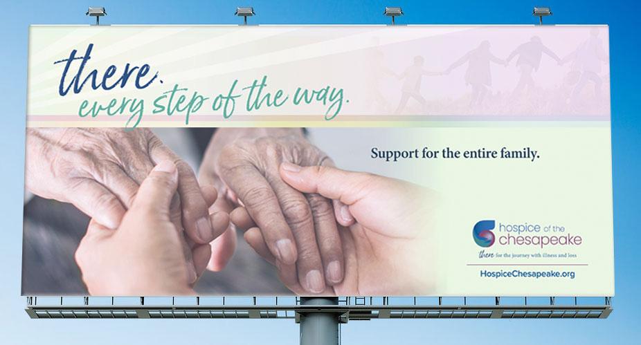 Hospice of the Chesapeake Billboard