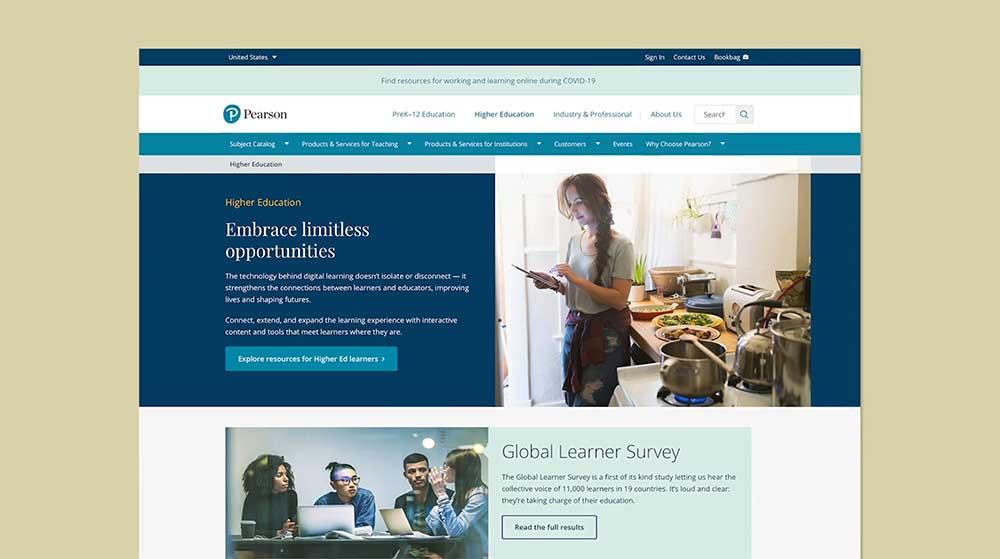Pearson Education Marketing