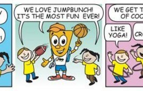 JumpBunch Comic Strip