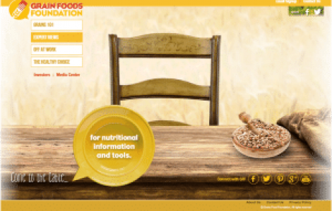 Grain Foods Foundation Website Functionality